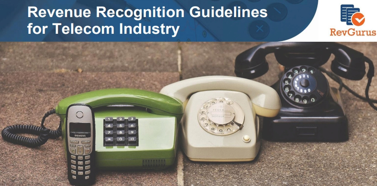 revenue recognition guideline for telecom industry