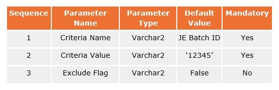 enhancement mje parameters